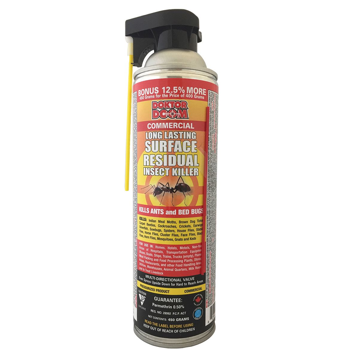 Doktor Doom Residual Insecticide 450 G