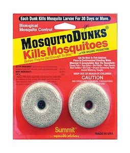 Summit Mosquito Dunks 2 Per Pack