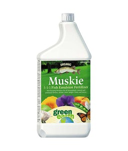 Green Earth Muskie Fish Fertilizer 5-1-1 Concentrate 1 Kg