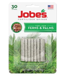 Jobes Plant Food Spikes For Fern And Palms 16-2-6 30/Pk