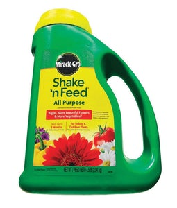 Miracle-gro Shake N Feed All Purpose Fertilizer 12-4-8 2.04 Kg