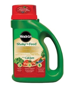 Miracle Gro Shake N Feed Tomatoes Fruits And Vegetable Fertilizer 9-4-12 2.04 Kg