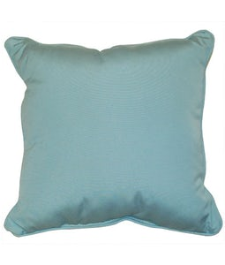 Sunbrella 16 X 16 Outdoor Cushion In Canvas Mineral Blue