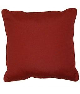 Sunbrella 16 X 16 Outdoor Cushion In Canvas Burgandy