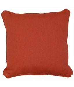 Sunbrella 16 X 16 Outdoor Cushion In Heritage Garnet