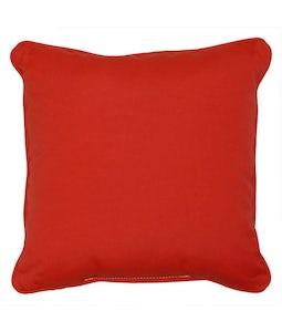 Sunbrella 16 X 16 Outdoor Cushion In Jockey Red