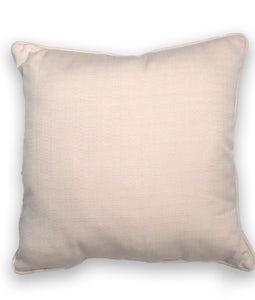 Sunbrella 16 X 16 Outdoor Cushion In Linen Canvas