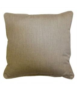 Sunbrella 16 X 16 Outdoor Cushion In Canvas Granite