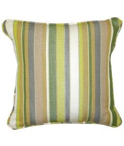 Sunbrella 16 X 16 Outdoor Cushion In Carousel Limelite