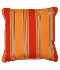 Sunbrella 16 X 16 Outdoor Cushion In Bravada Salsa