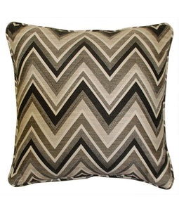 Sunbrella 16 X 16 Outdoor Cushion In Fisher Graphite