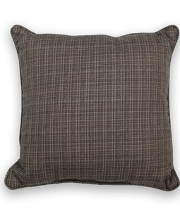 Sunbrella 16 X 16 Outdoor Cushion In Surge Charcoal