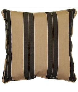 Sunbrella 16 X 16 Outdoor Cushion In Berenson Tuxedo