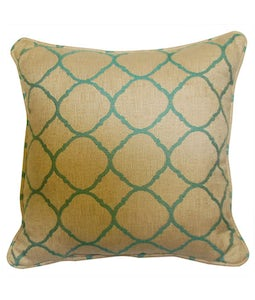 Sunbrella 16 X 16 Outdoor Cushion In Accord Jade
