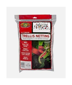 American Netting Trellis Netting 6 Inch Mesh 6.5ft X 20ft Clear