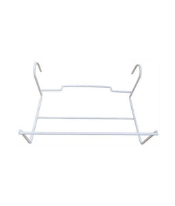 Over The Rail Flower Box Holder White