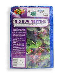 American Netting Big Bug Netting 1/4 In Mesh 8 Ft X 16 Ft Blue