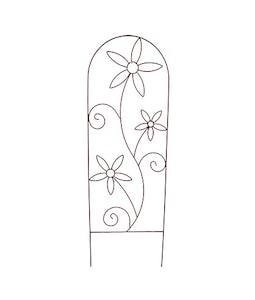72 Inch Daisy Trellis (Assorted Colors)