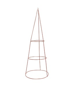 TOMATO CAGE 33 IN. X 12 IN 3 RING X 3 LEG RED