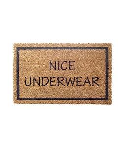 Nice Underwear Door Mat