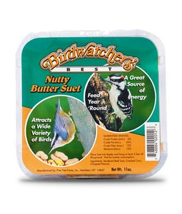 Bird Watchers Best Nutty Butter Suet 11 Oz