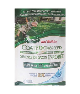 Scotts Turf Builder Coated Grass Seed Dense Shade Mix 1.4 Kg