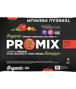 Pro Mix Premium Organic Vegetable And Herb Mix 28.3L