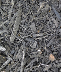 Ecco Chips Charcoal Recycled Colored Mulch 2 Cu Ft