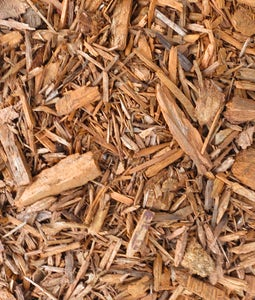Ecco Chips Autumn Gold Recycled Colored Mulch 2 Cu Ft