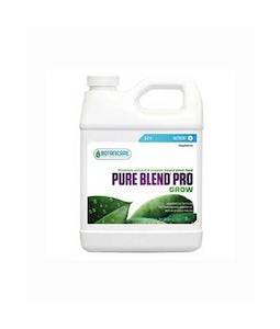 Botanicare Pure Blend Pro Grow 3-2-4 Base Nutrient 1 Qt