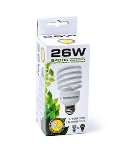 Sunblaster Compact Fluorescent Light 6400 Kelvin 26 Watt
