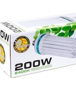 Sunblaster Compact Florescent Bulb 200 Watt 6400K