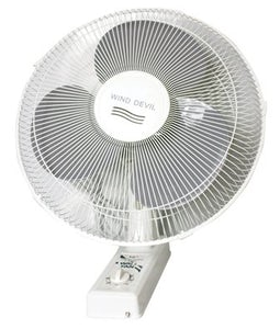 Winddevil 3 Speed Wall Fan 16 Inch