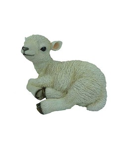 Border Concepts Sitting Lamb 14.5In