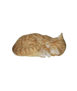 Border Concepts Sleeping Ginger Cat 11.75In