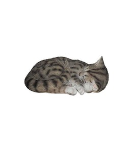 Border Concepts Sleeping Tabby Cat 11.75inL