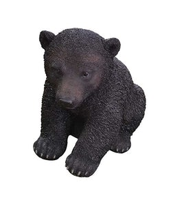 Border Concepts Black Bear Cub 12.5In