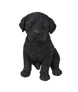 Border Concepts Black Labrador Puppy 6.5inH