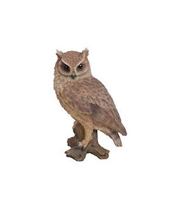 Border Concepts Long Eared Owl 14.75In