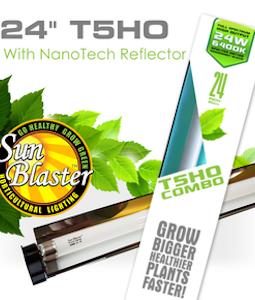 Sunblaster Nanotech T5 Reflector Combo 2 Ft