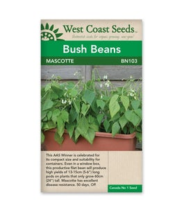 West Coast Seeds Beans Mascotte