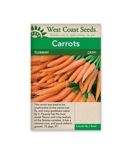 West Coast Seeds Carrots Flyaway