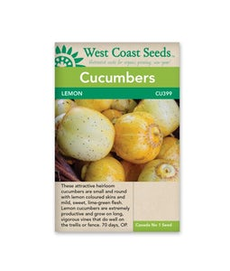 West Coast Seeds Cucumbers Lemon