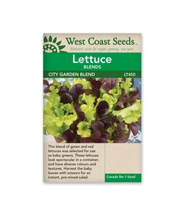 West Coast Seeds Lettuce City Garden
