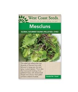 West Coast Seeds Lettuce Global Gourmet