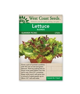 West Coast Seeds Lettuce Summer Picnic