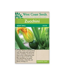 West Coast Seeds Squash Eight Ball F1