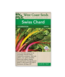 West Coast Seeds Swiss Chard Celebration