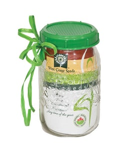 West Coast Seeds Sprouting Jar With Lid
