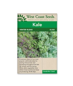 West Coast Seeds Kale Winter Blend